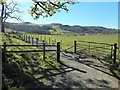 NS5281 : West Highland Way near Dumgoyach Farm by Lairich Rig
