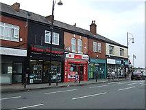 SJ8993 : Post Office and shops on Gorton Road, Reddish by JThomas