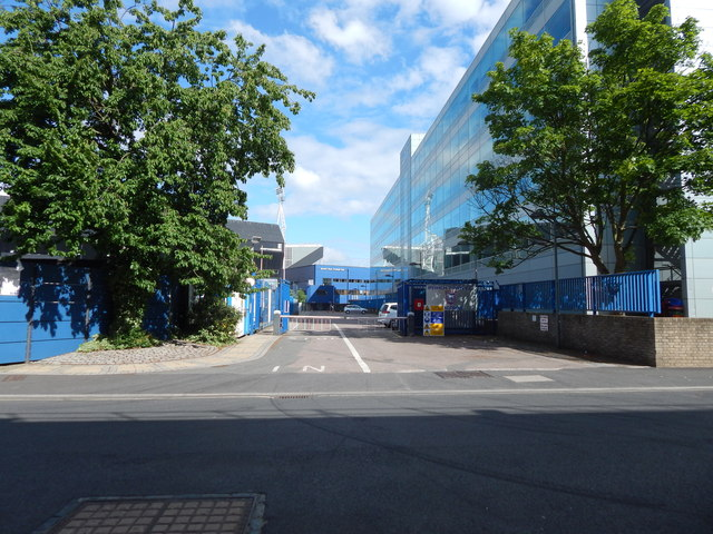 The edge of Ipswich football club