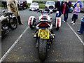 H5267 : Three-wheel Suzuki (rear view) by Kenneth  Allen