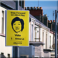 J5081 : 'Alliance' election poster, Bangor by Rossographer