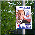 J5081 : 'TUV' election poster, Bangor by Rossographer