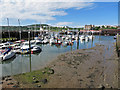 TA0488 : Old Harbour, Scarborough by Pauline E