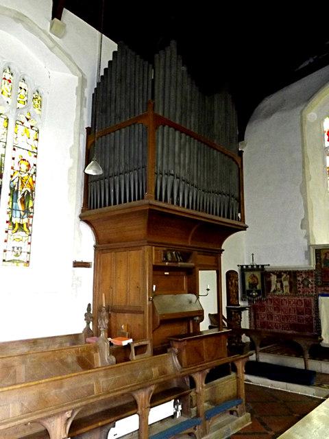 Organ of St.Nicholas the Great Church