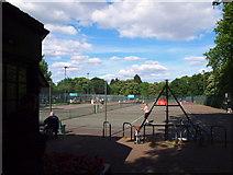 TQ2882 : Tennis Centre, Regent's Park, NW1 by David Hallam-Jones