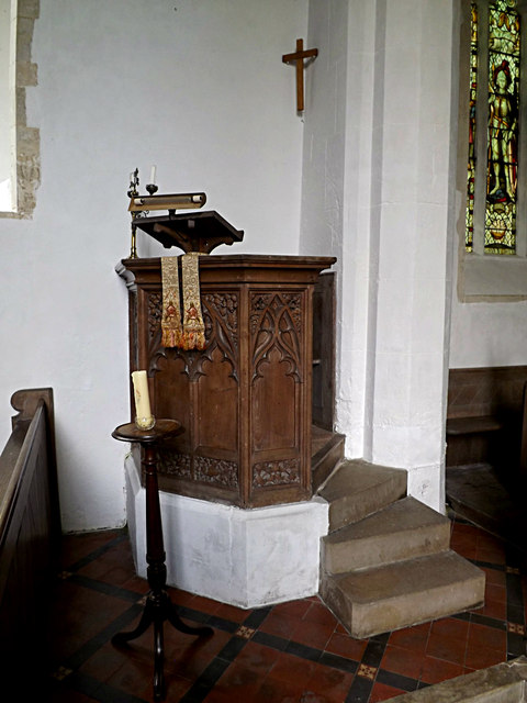 Pulpit of St.Nicholas the Great Church