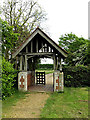 TM1577 : Lych Gate of St.Nicholas the Great Church by Geographer
