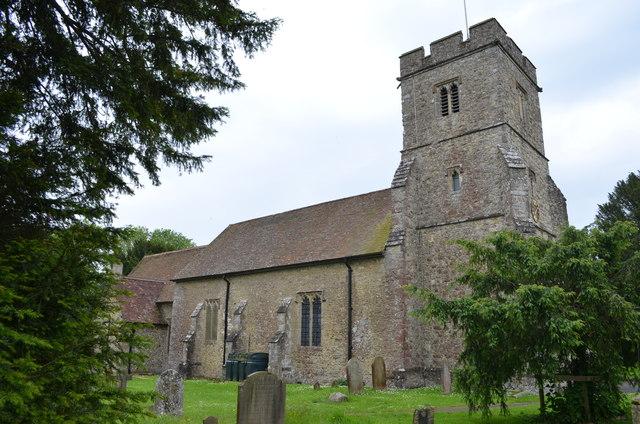St Mary's church, Kennington