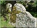 SP9019 : Old gravestones, Mentmore by Rob Farrow