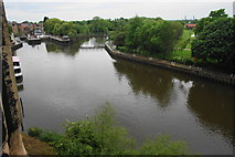 SK7954 : The River Trent below Newark Castle by Bill Boaden