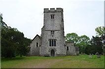 TR0149 : Church of St Cosmas and St Damian, Challock by Julian P Guffogg