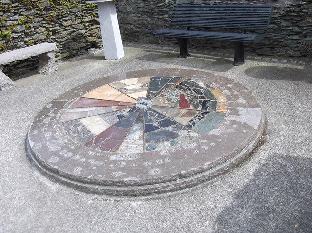GeoMon Clock at Amlwch Port