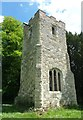 SP8915 : Old Church Tower of All Saints, Long Marston by Rob Farrow