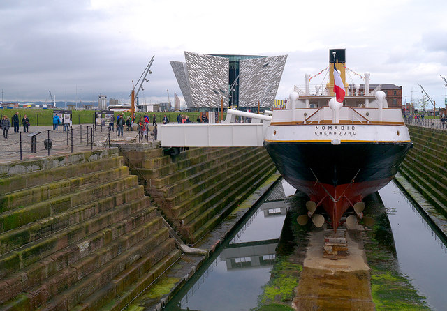 The SS 'Nomadic' at Belfast