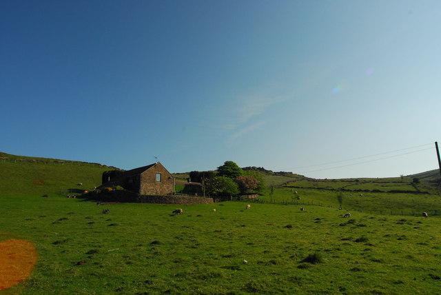 Axe Edge Green Farm in spring