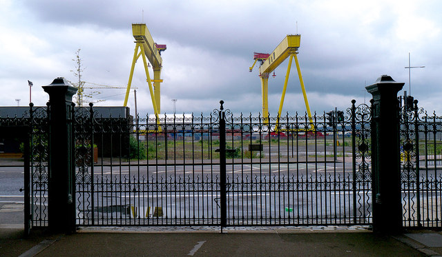 Cranes and gates, Belfast