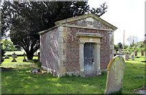 TM1994 : St Mary, Tharston - Churchyard by John Salmon
