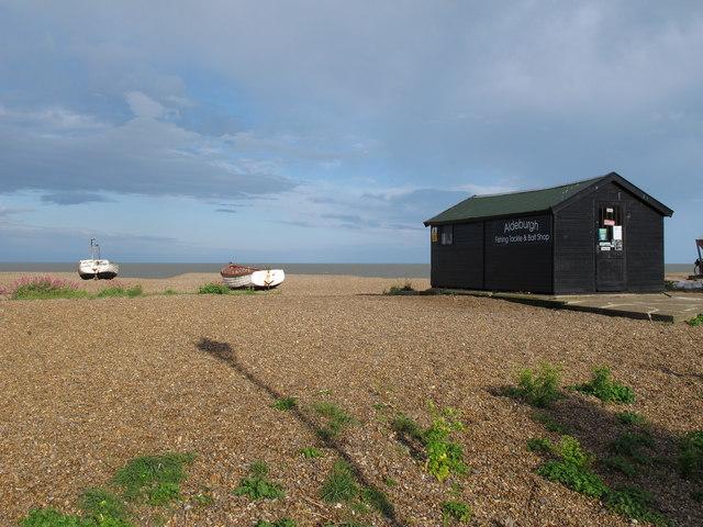 Aldeburgh Beach, Fishing Tackle & Bait Shop