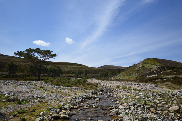 Allt na h-Eirghe at the Braes of Abernethy