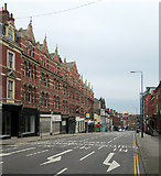 SK5640 : Derby Road near Canning Circus by John Sutton