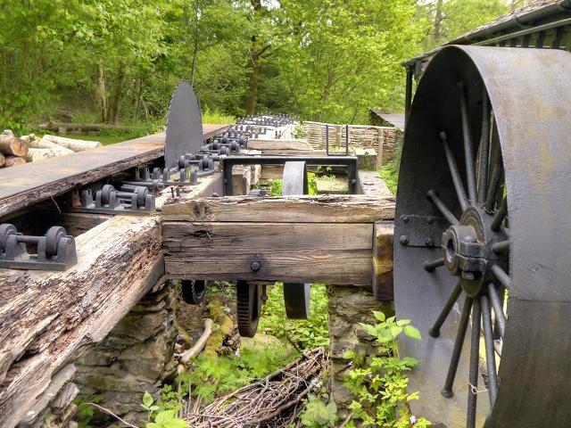 Old Circular Saw, Stott Park Bobbin Mill