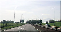 NS3528 : Approaching Monktonhead roundabout by John Firth
