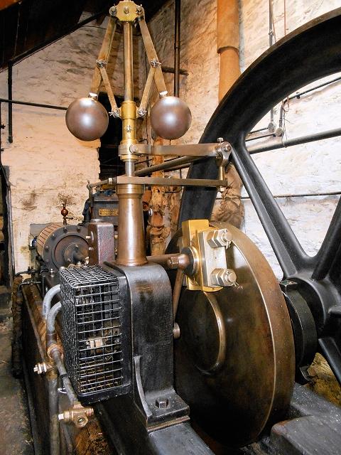 Stott Park Bobbin Mill Steam Engine (Governor)