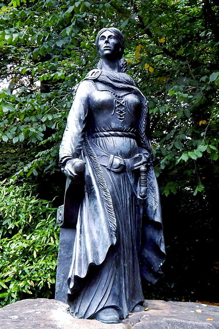 County Mayo - Westport House Grounds - Statue of Grace O'Malley (1530-1603)