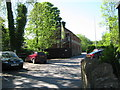 ST8499 : Once railway property-Nailsworth, Glos by Martin Richard Phelan