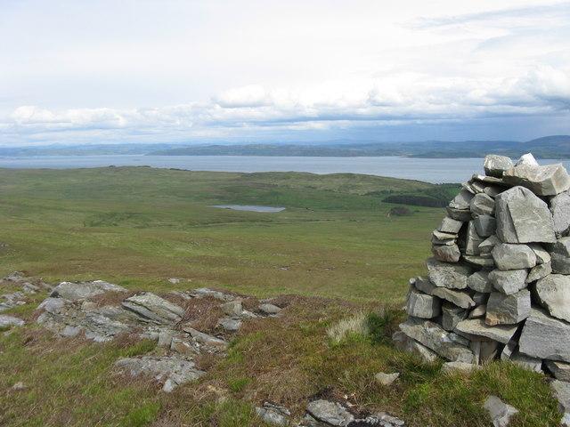 Cairn on Maol nan Damh