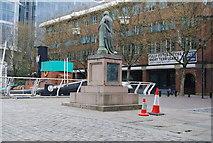 TQ3780 : Robert Milligan Statue, West India Dock by N Chadwick