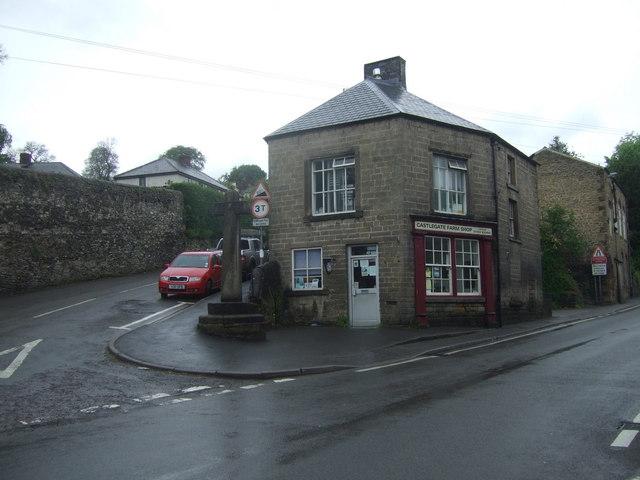 Farm shop, Stoney Middleton