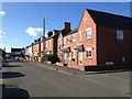 SP0763 : Houses, north side of Church Street, Thomas Town, Studley by Robin Stott