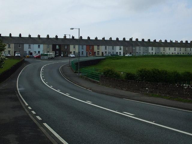 Crosby Villa on the A596