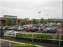 NT2774 : Meadowbank Retail Park, Edinburgh by Graham Robson