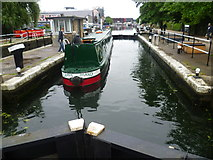 TQ3783 : Old Ford Locks on the Lee Navigation by Marathon