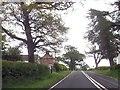 NY4564 : Hunley Farm from A6071 by John Firth