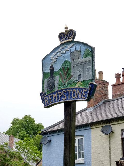 Rempstone Village Sign