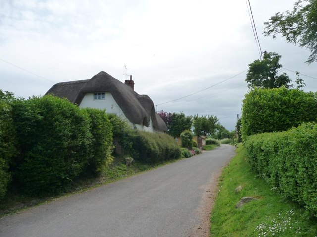 Large thatched house, Charlton St Peter
