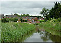 SO8863 : Canal and housing at Newtown, Redditch, Worcestershire by Roger  Kidd