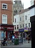 SK7953 : Town centre scene, Newark by Andrew Hill