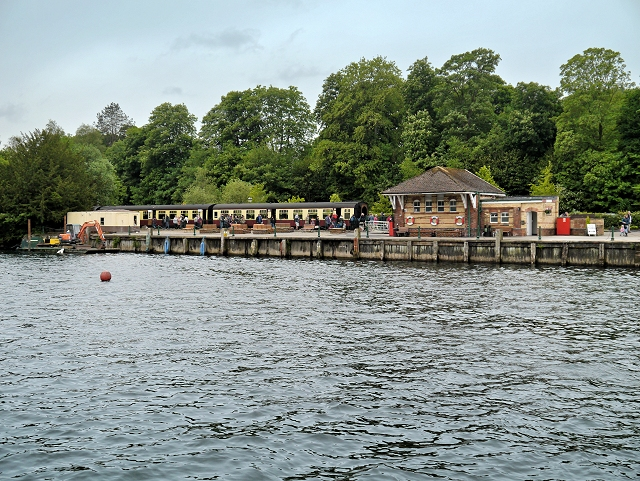 Lakeside Pier and Railway Station
