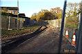 SP0376 : Streetworks, Bracken Way, West Heath by Robin Stott