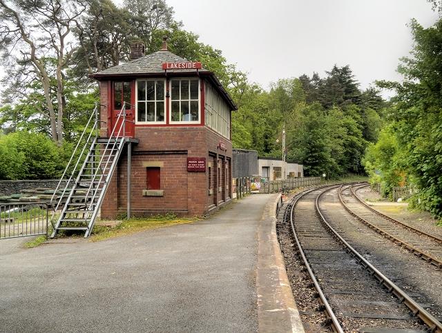 Lakeside Signal Box, Lakeside and Haverthwaite Railway