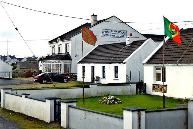 County Mayo - Achill Island - Keel - Achill Cliff House Hotel & Restaurant