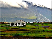 F6305 : County Mayo - Achill Island - Keel - House, Keel Lough, Slievemore (671) by Suzanne Mischyshyn