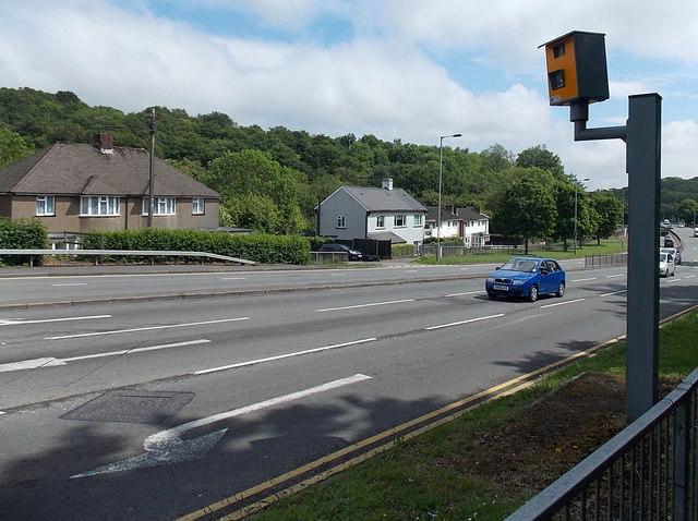 Malpas Road speed camera, Newport
