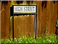 TM0771 : High Street sign by Adrian Cable