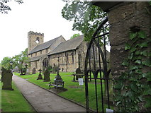 SD7336 : The Church of St Mary and All Saints at Whalley by Peter Wood