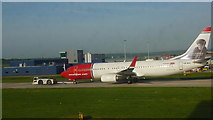 TQ2740 : Norwegian at Gatwick Airport by Richard Cooke